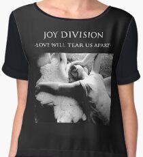 Joy Division - Love Will Tear Us Apart Chiffon Top