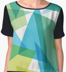 Abstract glass fragments Chiffon Top