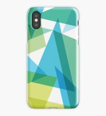 Abstract glass fragments iPhone Case