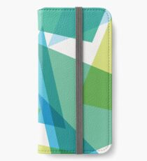 Abstract glass fragments iPhone Wallet/Case/Skin