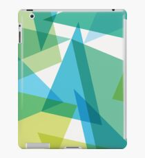 Abstract glass fragments iPad Case/Skin