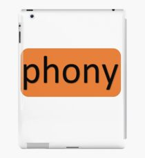 The Real You - Phony iPad Case/Skin