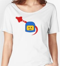 LEGO Classic Space Fan Women's Relaxed Fit T-Shirt
