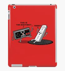 This is the eighties! Nes iPad Case/Skin
