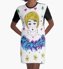 GLAMOROUS GAL Graphic T-Shirt Dress