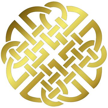 Celtic 'Knot'- Golden. by timothybeighton
