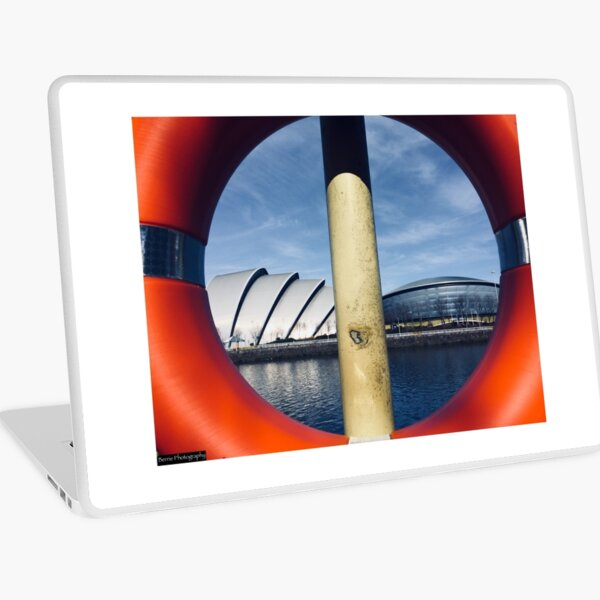 Glasgow Landmarks Laptop Skin