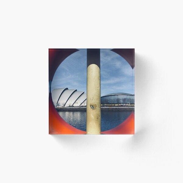 Glasgow Landmarks Acrylic Block