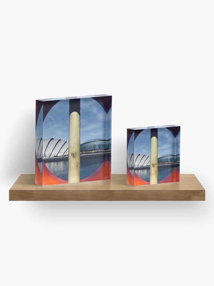 Alternate view of Glasgow Landmarks Acrylic Block