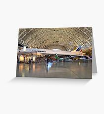 *CONCORDE AIR FRANCE* Greeting Card
