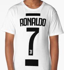 Ronaldo 7 CR7 Juve Fans Long T-Shirt