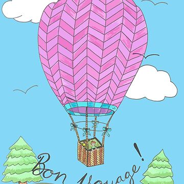 Hot Air Balloon by iCraftCafe
