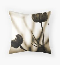 Seed Pods 1 Throw Pillow