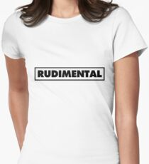 Rudimental UK Drum'n'bass DJ Women's Fitted T-Shirt