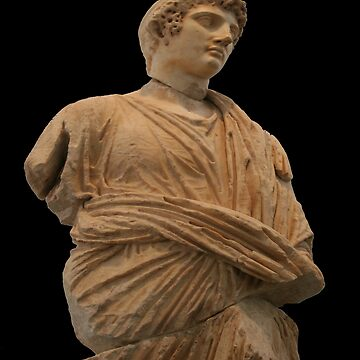 Statue of Roman Citizen Wearing Toga  by taiche