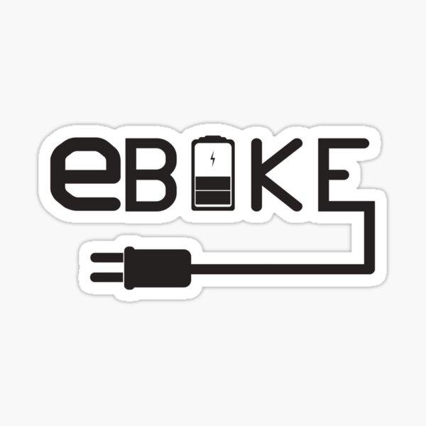 E-Bike Bicycle Sticker