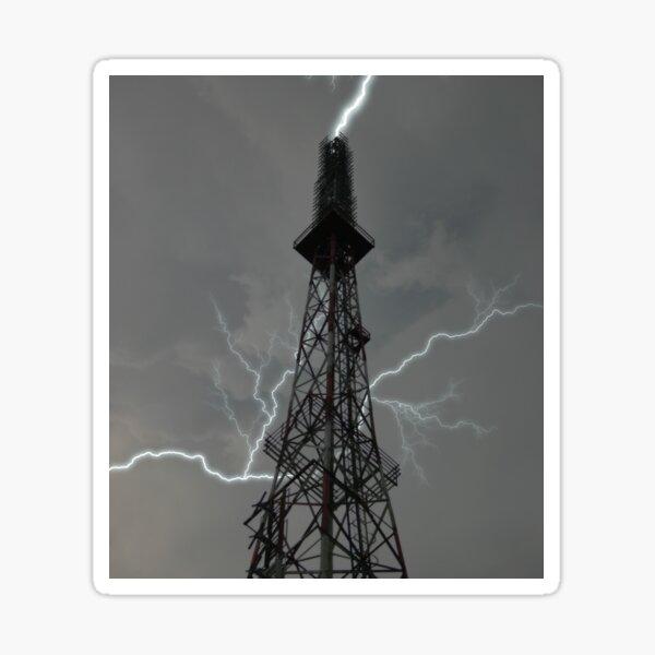Lightning Rod Sticker