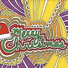 Merry Christmas Drawing Meditation by kpdesign