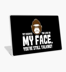 Sarcasm Gorilla irony Funny saying gift Laptop Skin