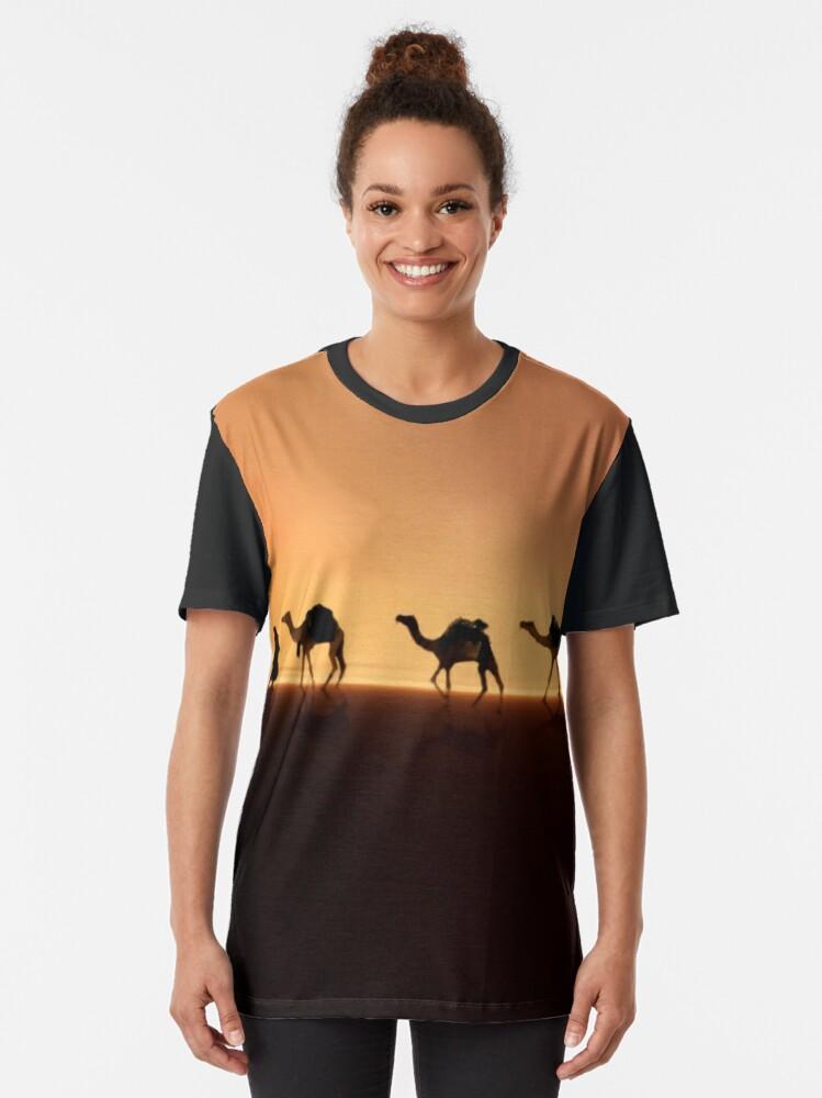 Alternate view of Desert Mirage Graphic T-Shirt
