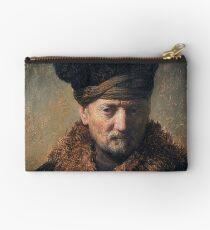 Rembrandt van Rijn – Bust of an Old Man with a Fur Cap Studio Pouch