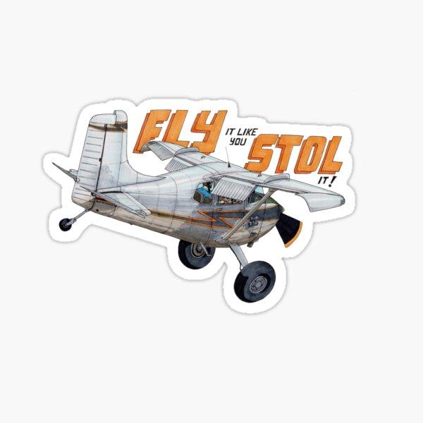 Straight Tail STOL Sticker