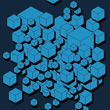 3D Futuristic Cubes VIII by tamaya111
