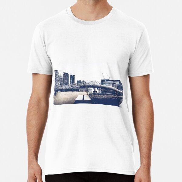 Docklands Webb Bridge Premium T-Shirt