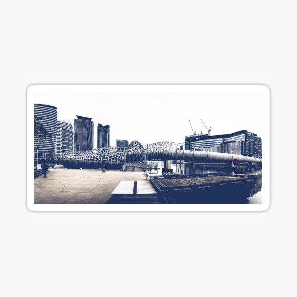 Docklands Webb Bridge Sticker