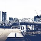 Docklands Webb Bridge by Andrew Wilson