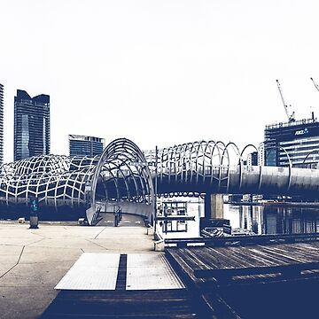Docklands Webb Bridge by AndrewWilson