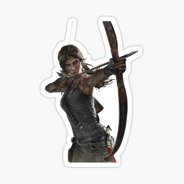 Lara Croft Sticker