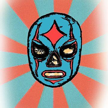 Luchadore Mask by cmcewan