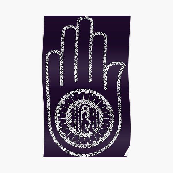 Jain Hand  Poster