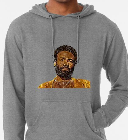 Abstract Childish Gambino Lightweight Hoodie