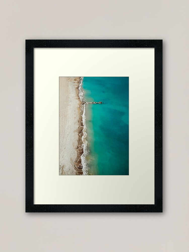 Alternate view of Fifty Shades of Kourion Framed Art Print