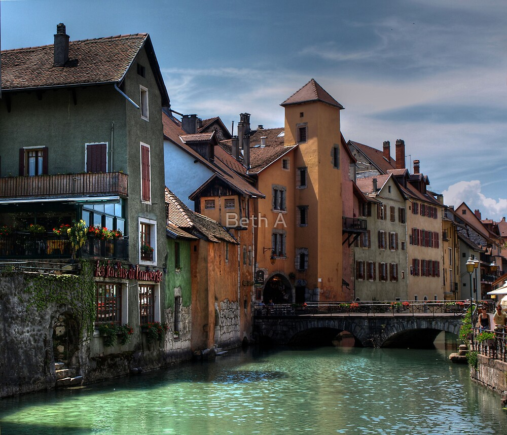 Quot Annecy France Quot By Beth A Redbubble
