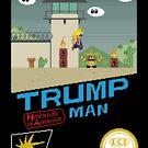 Trumpf Mann von Pixel-Bones