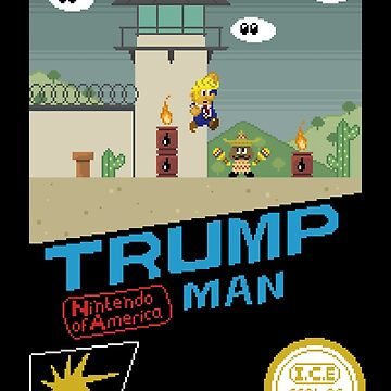 Trump Man by Pixel-Bones