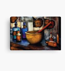 Pharmacist - Mortar and Pestle Canvas Print