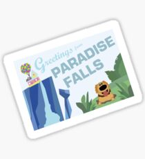 Greetings from paradise falls featuring Dug Sticker