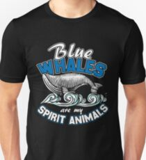 Blue whale animal water ocean Unisex T-Shirt