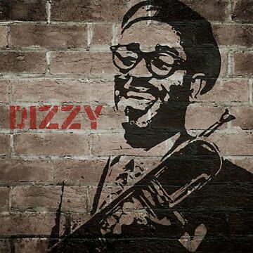 Jazz Club: Dizzy Gillespie by halibutgoatramb