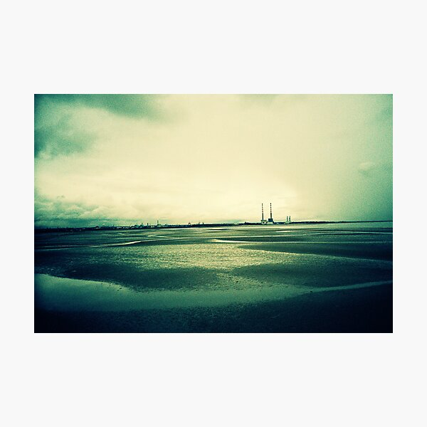 Sandymount at Low Tide Photographic Print