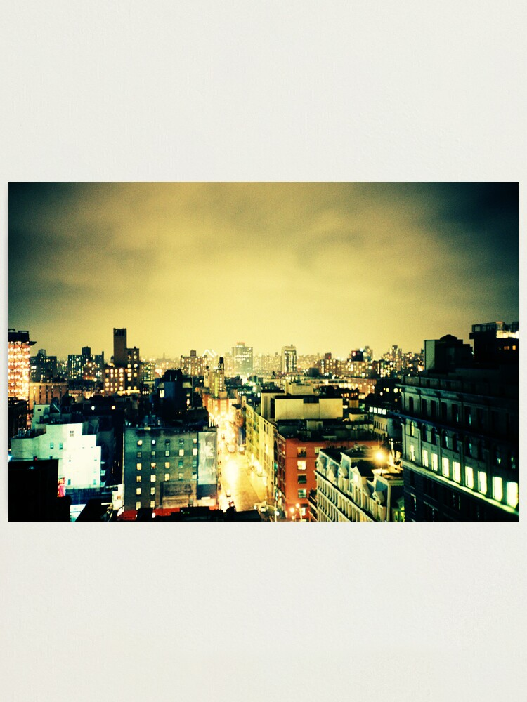 Alternate view of Greenwich Village Skyline Photographic Print