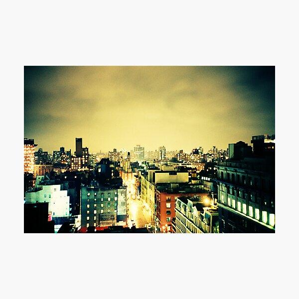 Greenwich Village Skyline Photographic Print