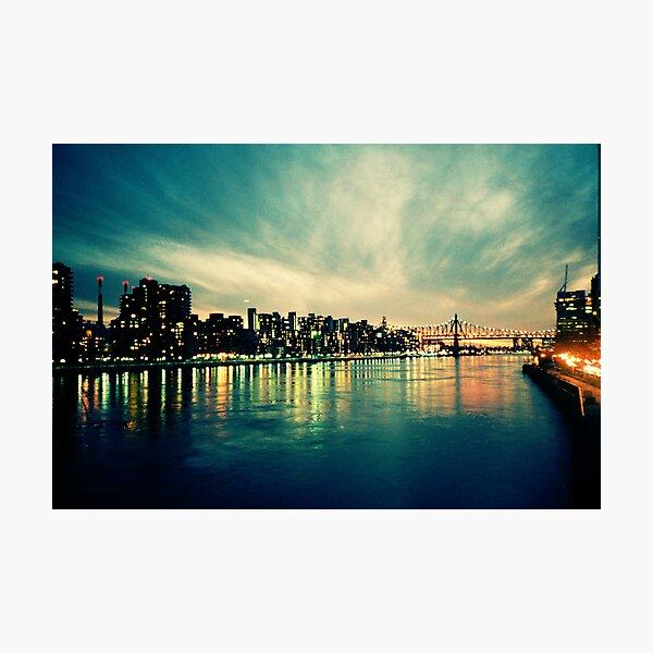 Hudson Cityscape Photographic Print