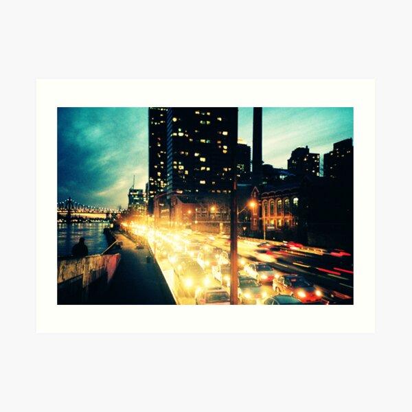 Manhattan Freeway Art Print