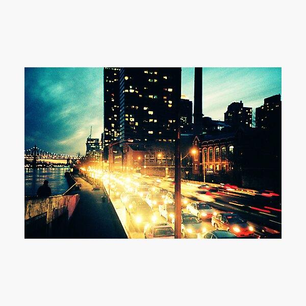 Manhattan Freeway Photographic Print