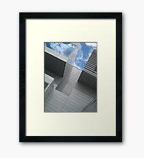 blocks & stripes Framed Print